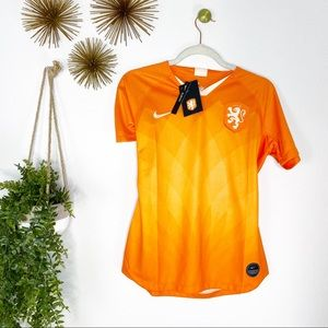 Nike Netherlands National Soccer Team Jersey